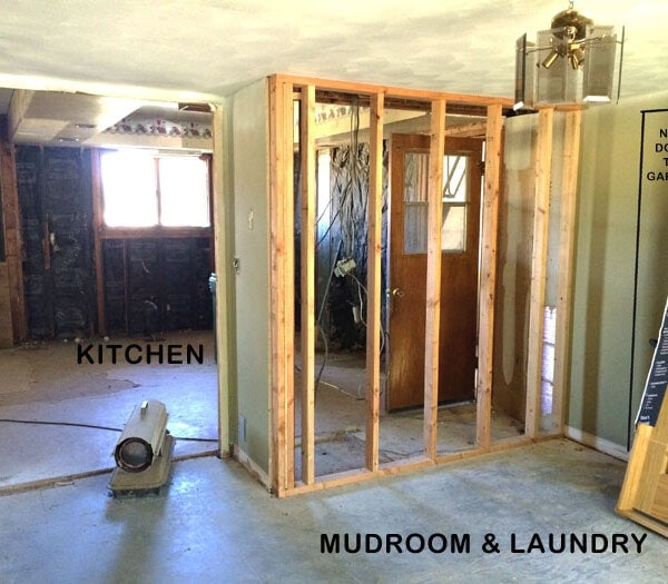 mudroom and laundry