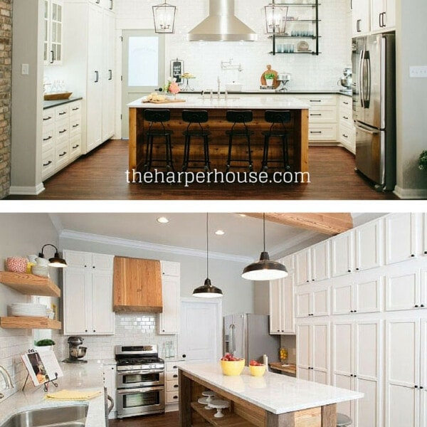 Do you want to add Fixer Upper style to your home but aren't sure where to start? I'll show you exactly what to do, starting with the kitchen!