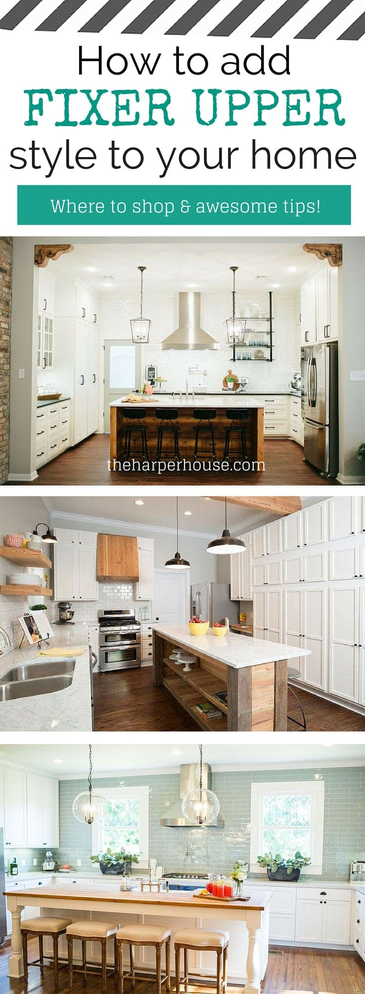 How To Add Fixer Upper Style To Your Home The Harper House