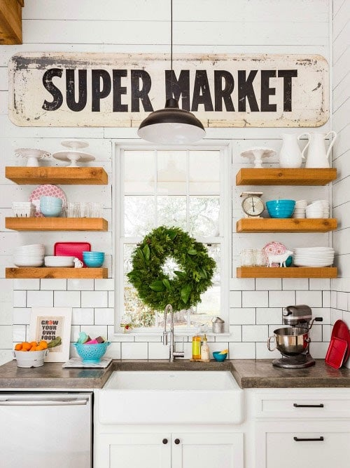 How to add fixer upper style to your home open for Kitchen ideas joanna gaines