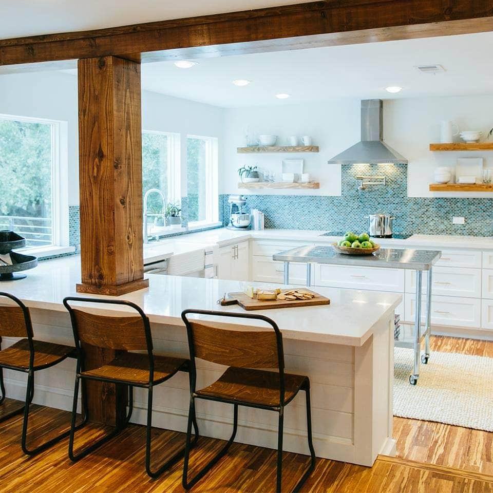 How to add fixer upper style to your home kitchens for Home kitchen style
