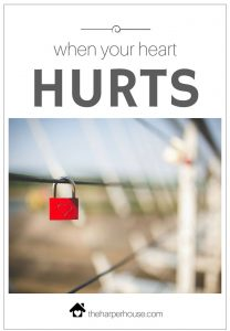 Is your heart hurting? You are not alone | The Harper House
