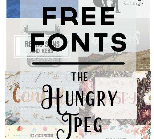 free fonts & winner announced!
