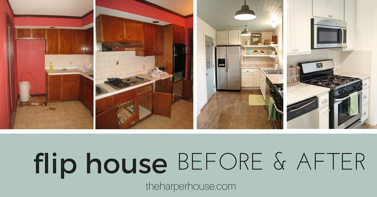 Hazel St Flip House Before And After The Harper House