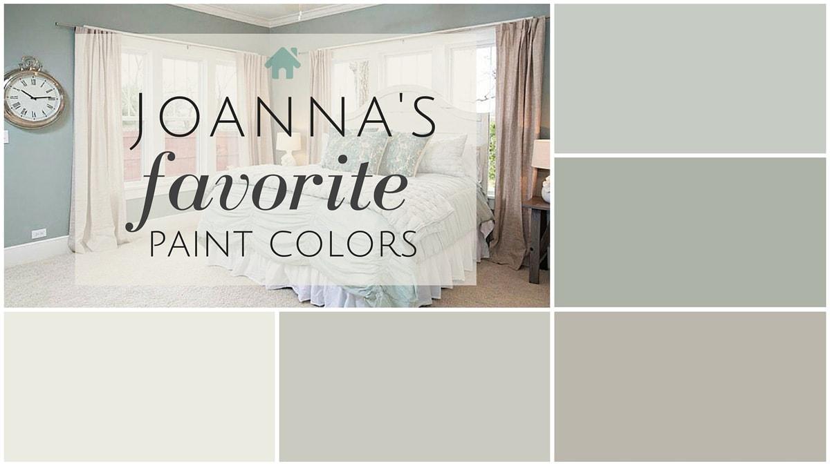 Fixer upper paint colors joanna s 5 favorites the harper house