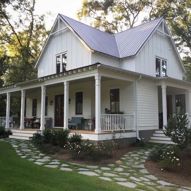 5 favorite farmhouse accounts on instagram the harper house Four gables house plan