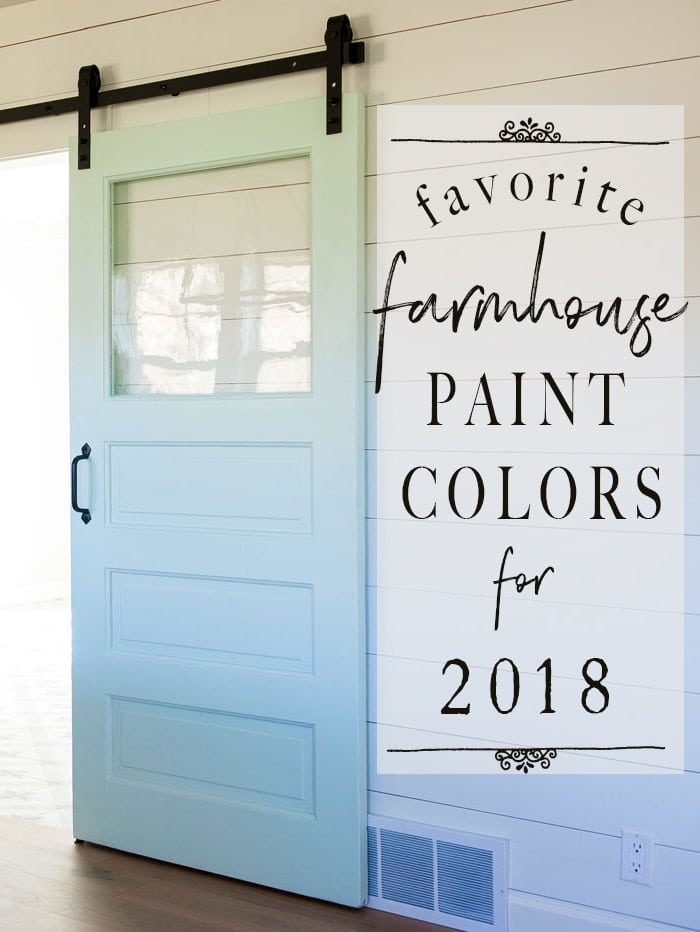 Delicieux My Favorite Fixer Upper Paint Colors   Sherwin Williams Alabaster, Modern  Farmhouse Paint Colors,