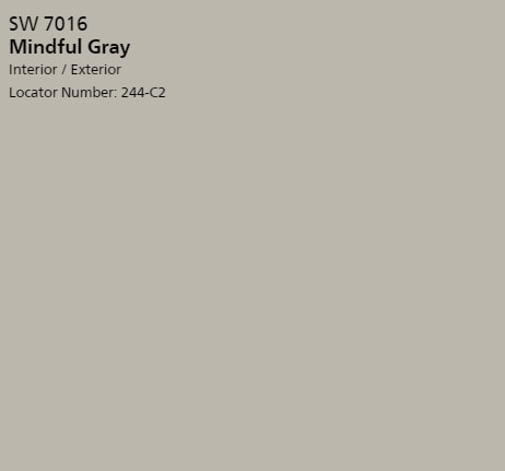 Fixer Upper Paint Colors The Most Por Of All Time Harper Sherwin Williams Mindful Gray