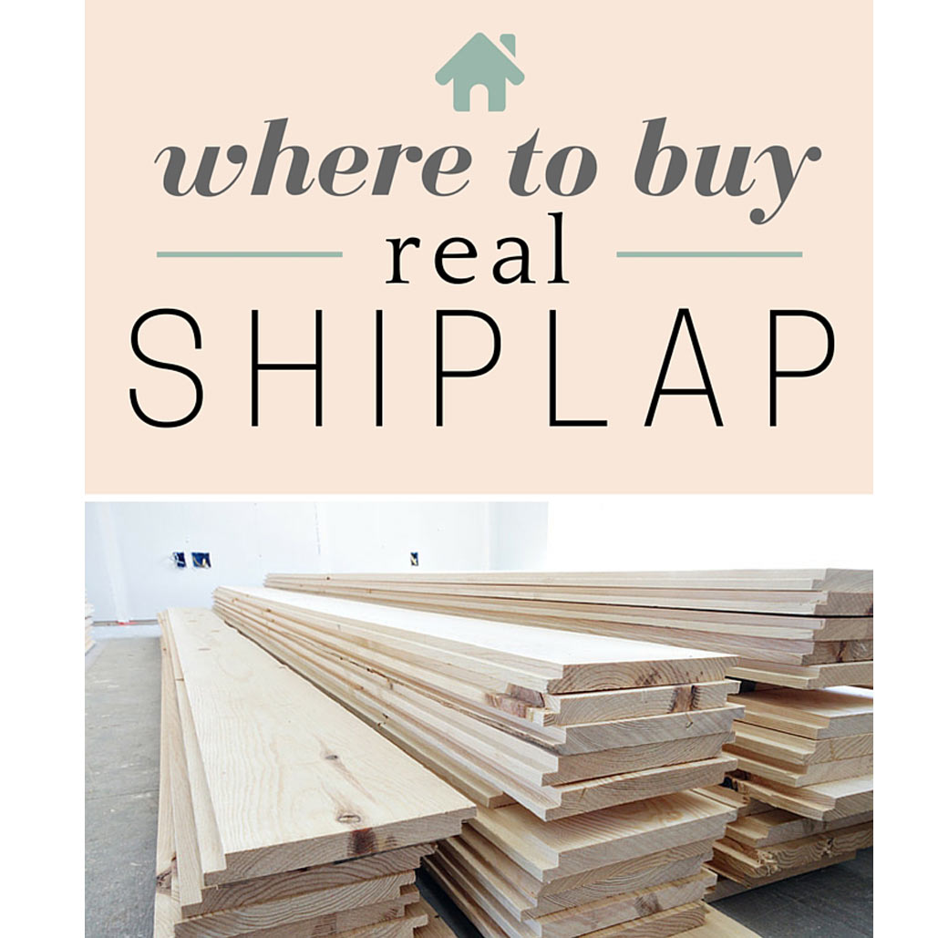 Where to Buy Shiplap