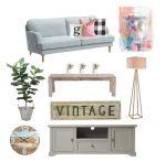 Mood Boards: Fresh Farmhouse Family Room
