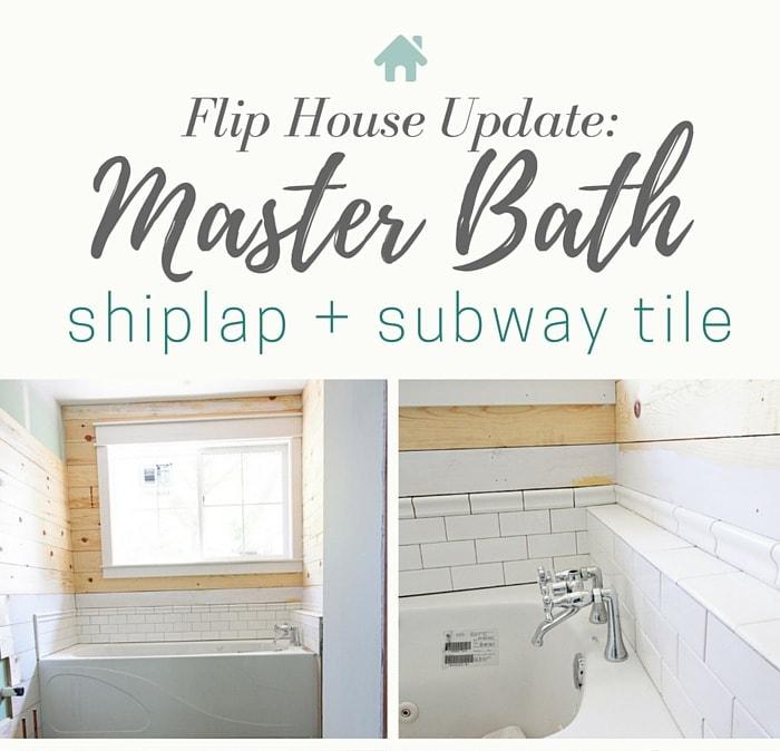 Flip House: Master Bath Updates