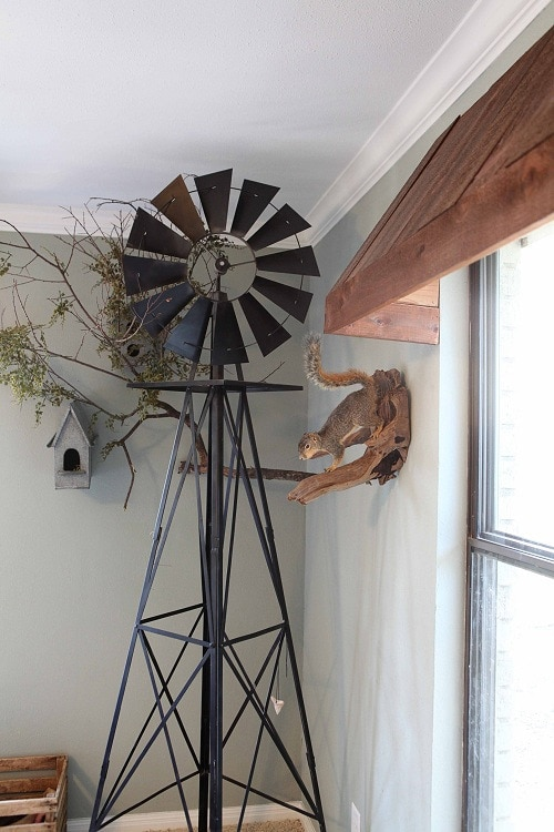 Windmill Kitchen Decor