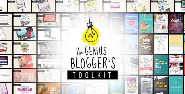 super crazy affordable blogging resources for one low price!