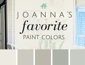 Joanna's favorite paint colors