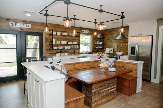 Where to buy the kitchen lights featured on fixer upper season 4 episode 2 mid