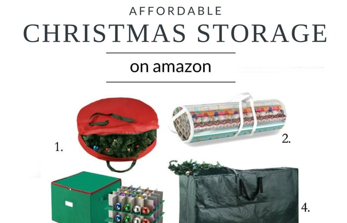 Affordable Christmas storage available on Amazon