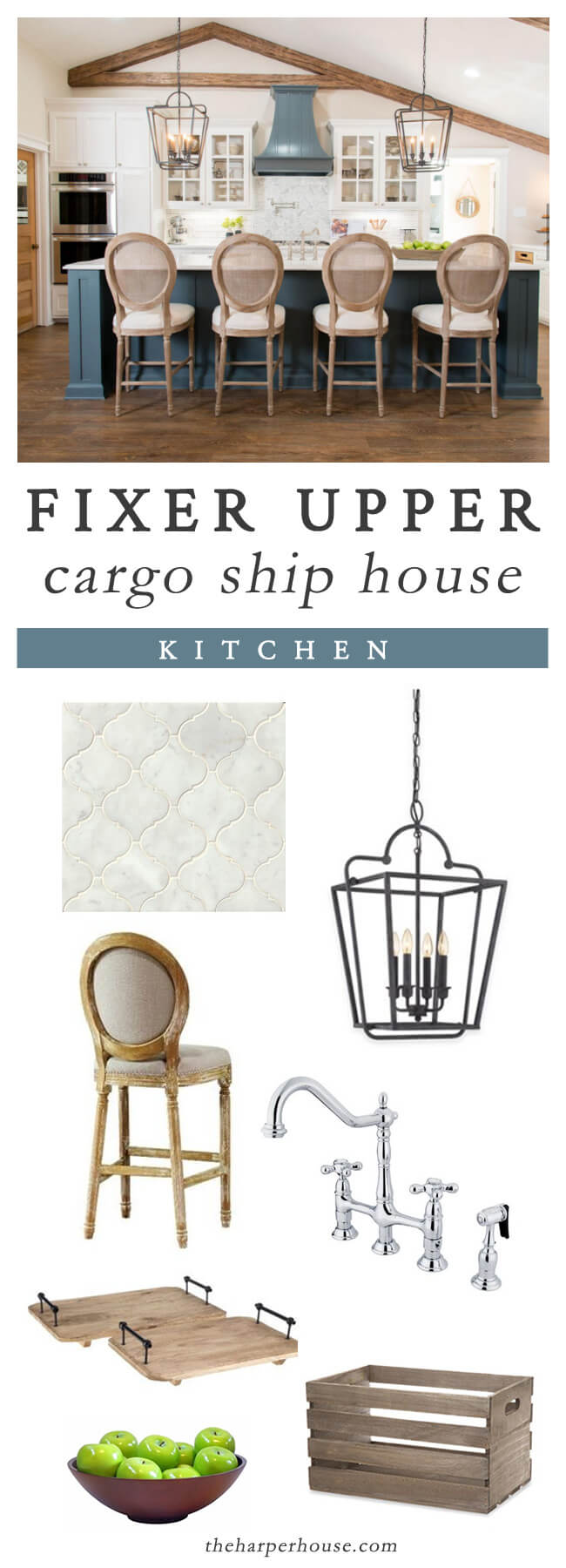 FIXER UPPER Season 4 Episode 1: Cargo Ship House