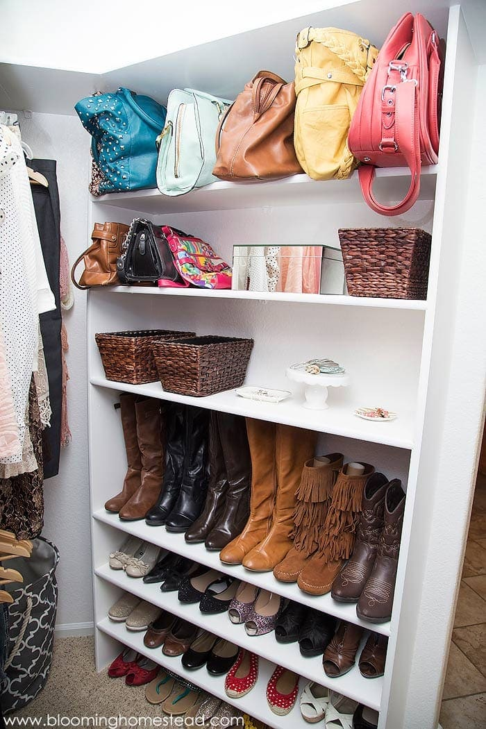 5 closet organization ideas (picture credit: bloominghomestead.com)