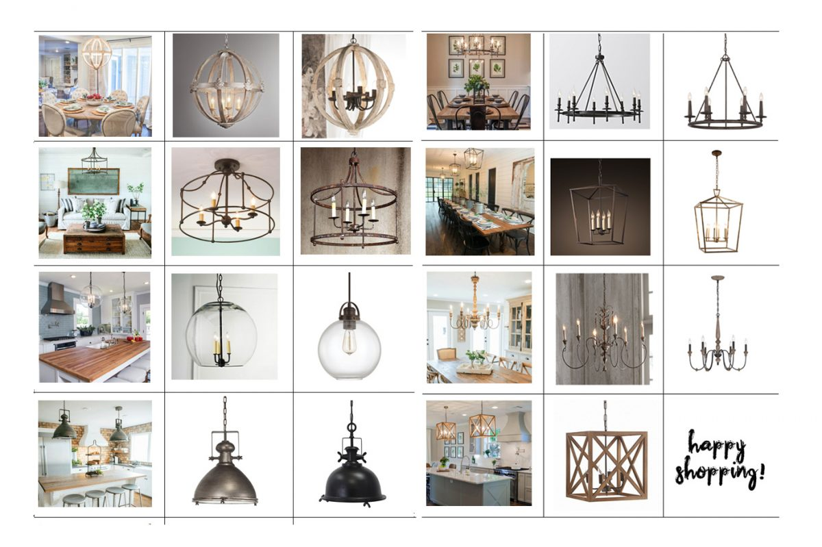 Favorite Light Fixtures For Fixer Upper Style The Harper