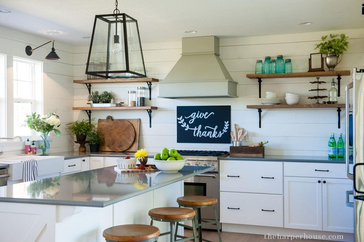 Farmhouse Kitchen our farmhouse kitchen reveal | the harper house