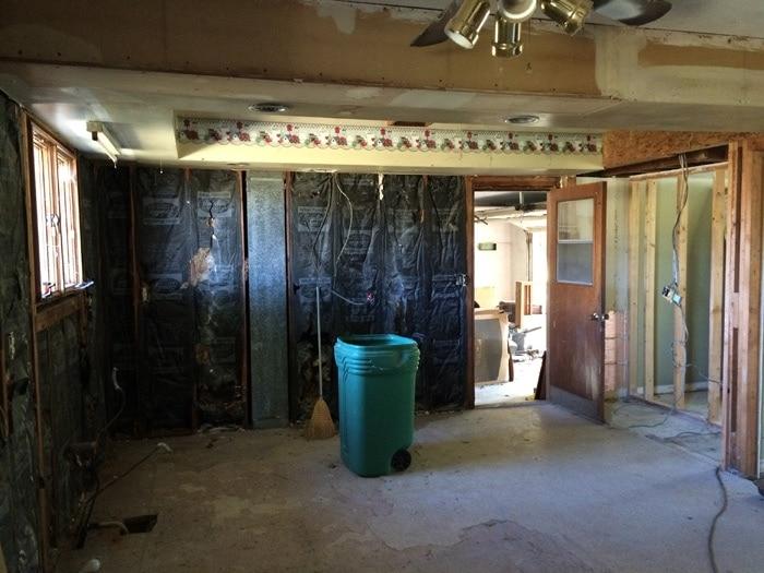 farmhouse kitchen before