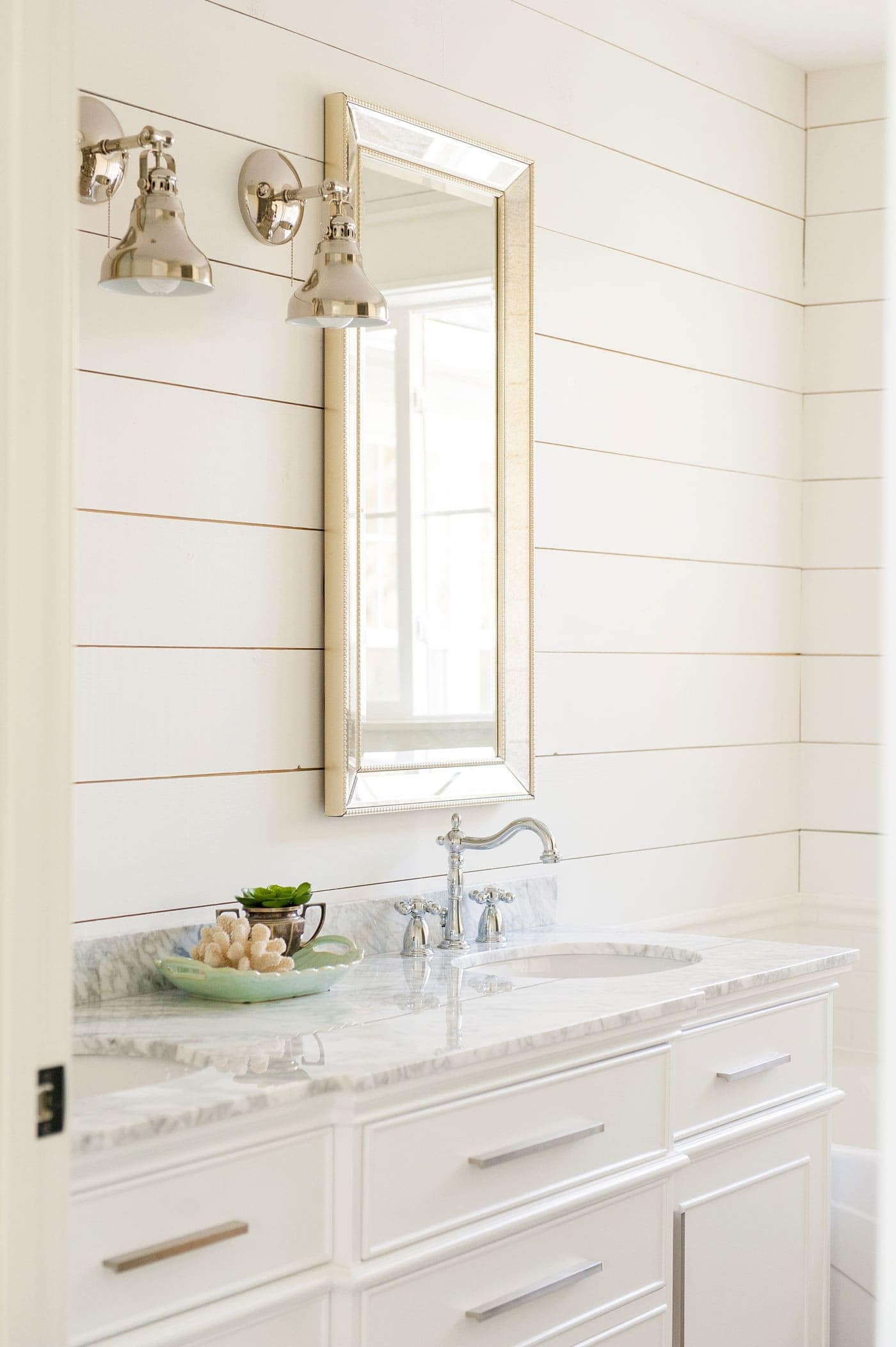 White paint colors 5 favorites for shiplap the harper house Best white paint for interior doors