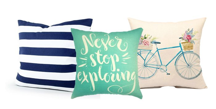 Spring Pillows on Amazon