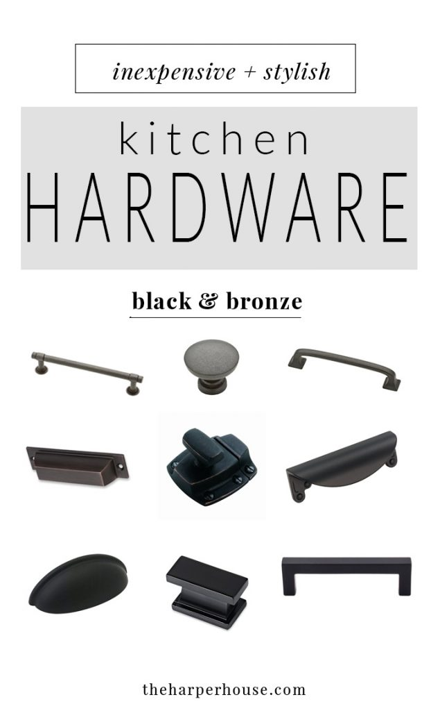 where to buy affordable kitchen hardware, farmhouse style kitchen cabinet hardware for cheap, cabinet pulls & knobs | theharperhouse.com