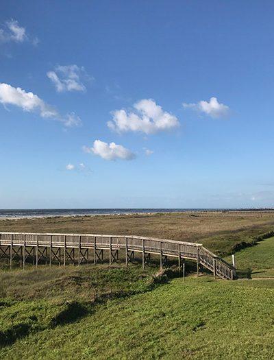 beach walkover - Galveston, Tx