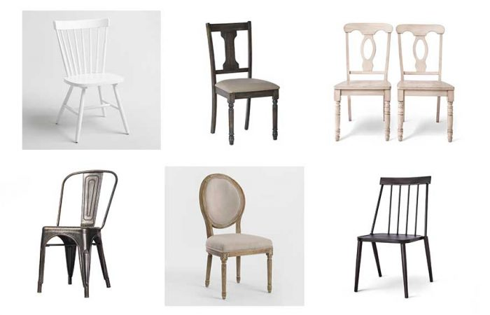Favorite Farmhouse Style Dining Chairs
