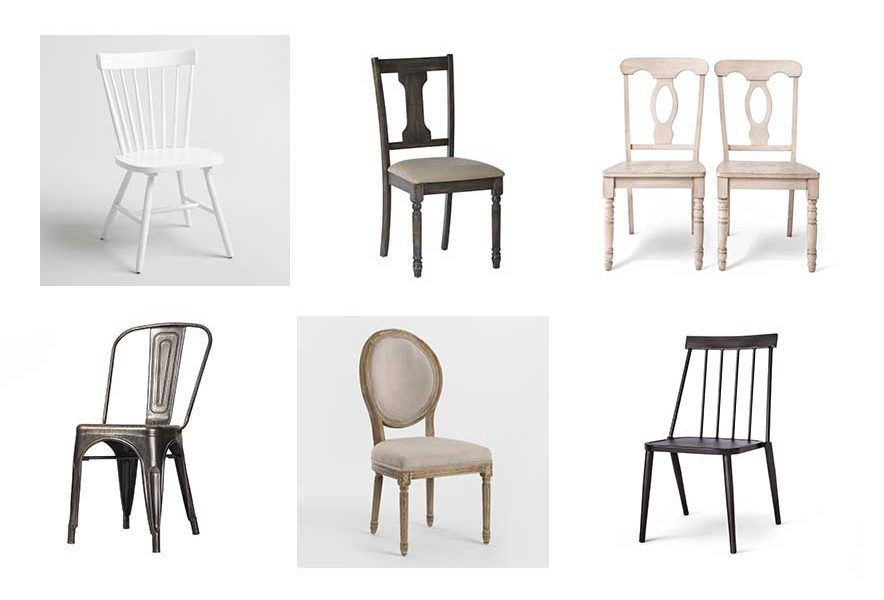 Farmhouse Dining Chairs, so many beautiful budget-friendly options!