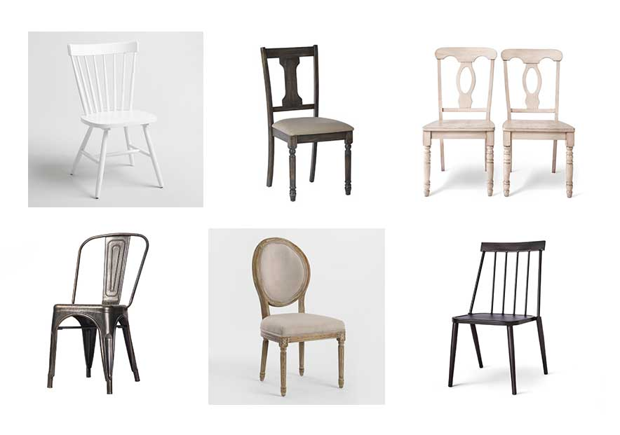 Farmhouse Dining Chairs, So Many Beautiful Budget Friendly Options!