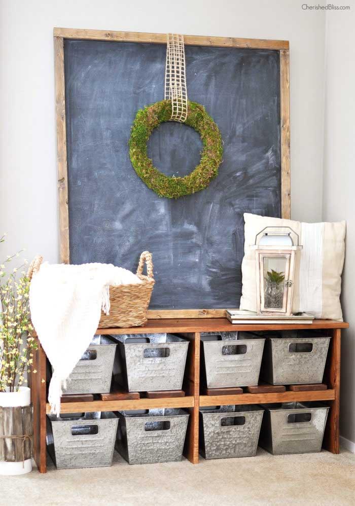 Farmhouse Organization and Storage Ideas