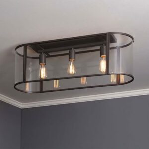rectangular flush mount ceiling light kitchen and heres another great fixture that get asked lot about favorite light fixtures for fixer upper style the harper house