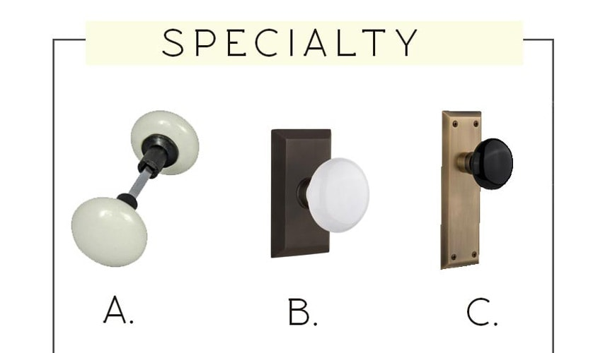 easy to follow guide for choosing cohesive door hardware for your whole house. Budget friend  sc 1 st  The Harper House & Modern Farmhouse Interior Door Knobs | The Harper House