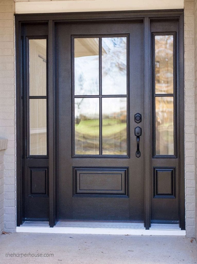 Delightful Where To Find Exterior Door Hardware Perfect For A Modern Farmhouse