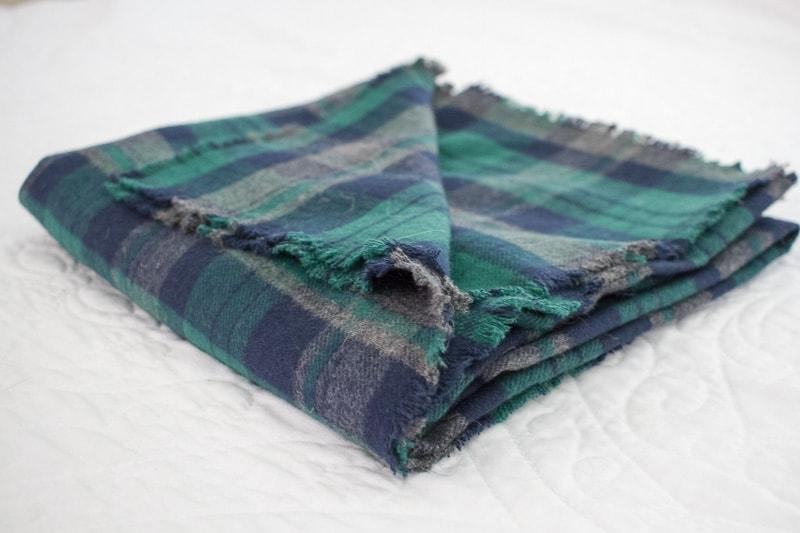 easy diy blanket scarf