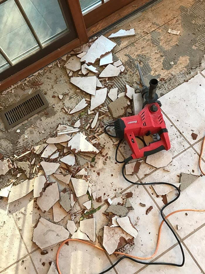 How to remove tile floors - tips and tricks for diy tile removal