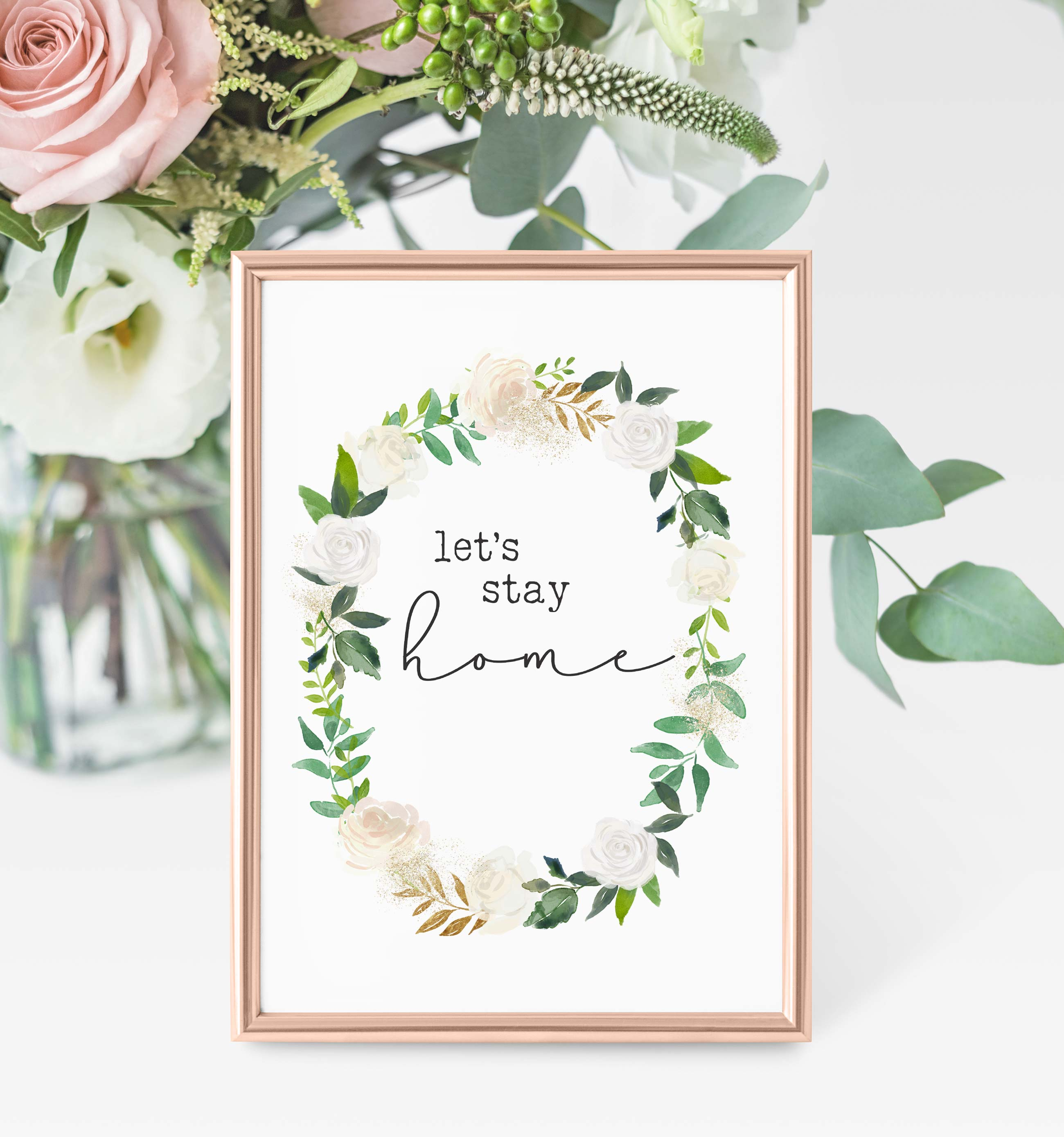 Free Printables Lets Stay Home The Harper House