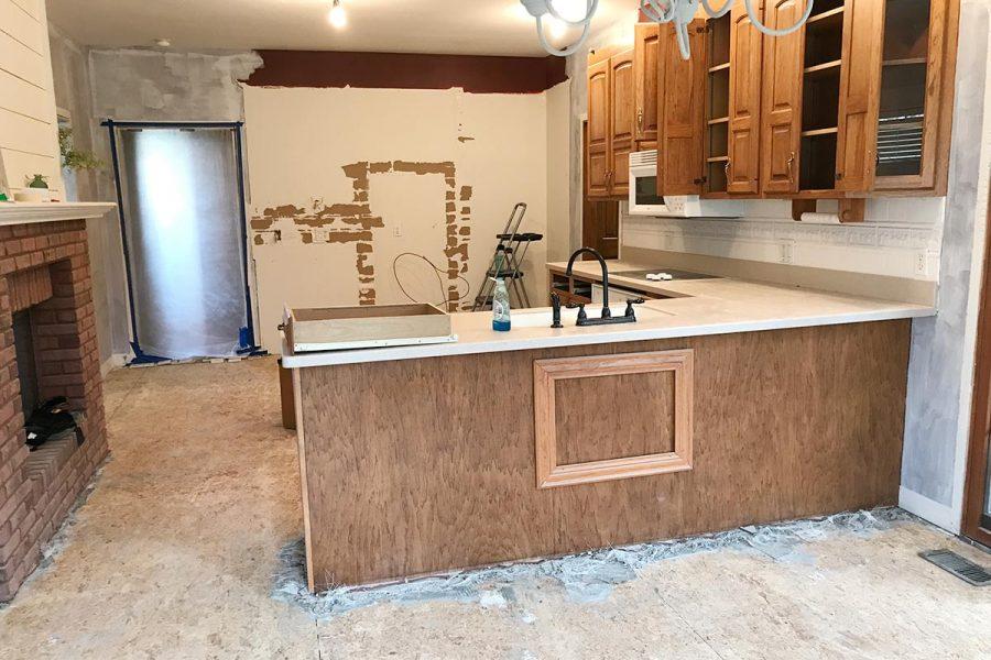 Kitchen Remodel Weeks 2-3 | The Harper House
