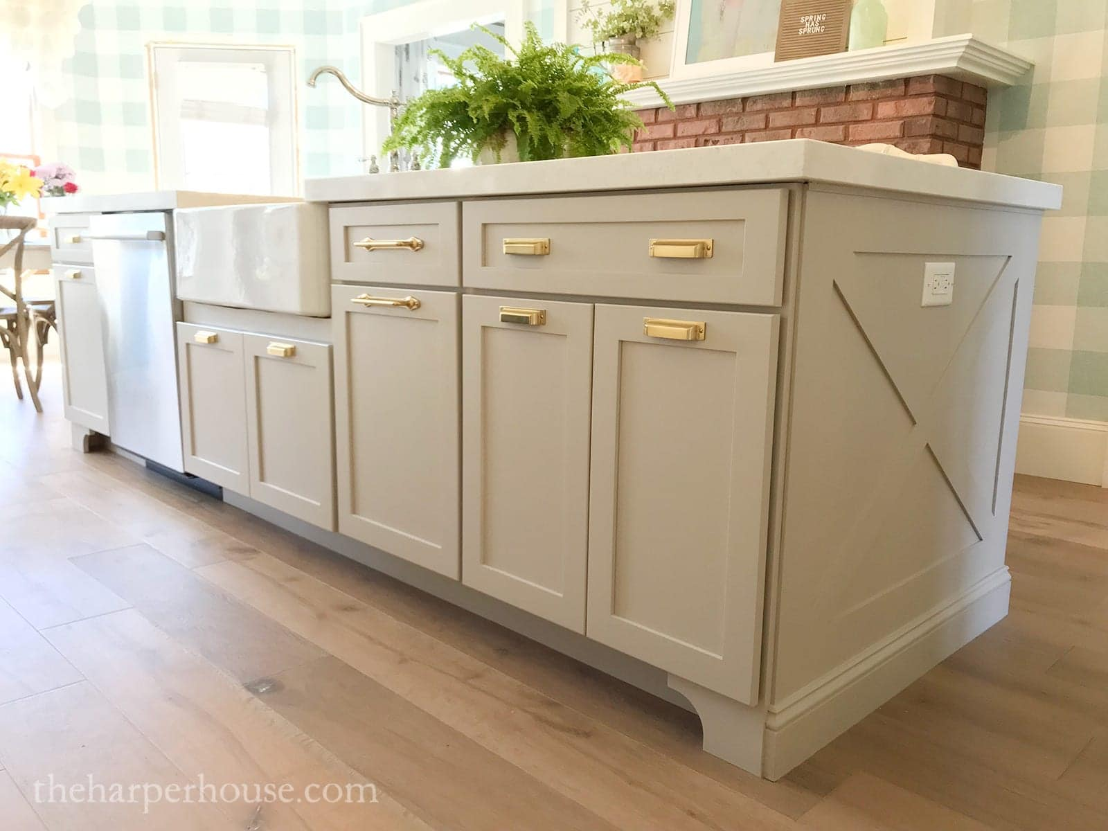 diy kitchen island trim - full tutorial on how to build kitchen island trim yourself!