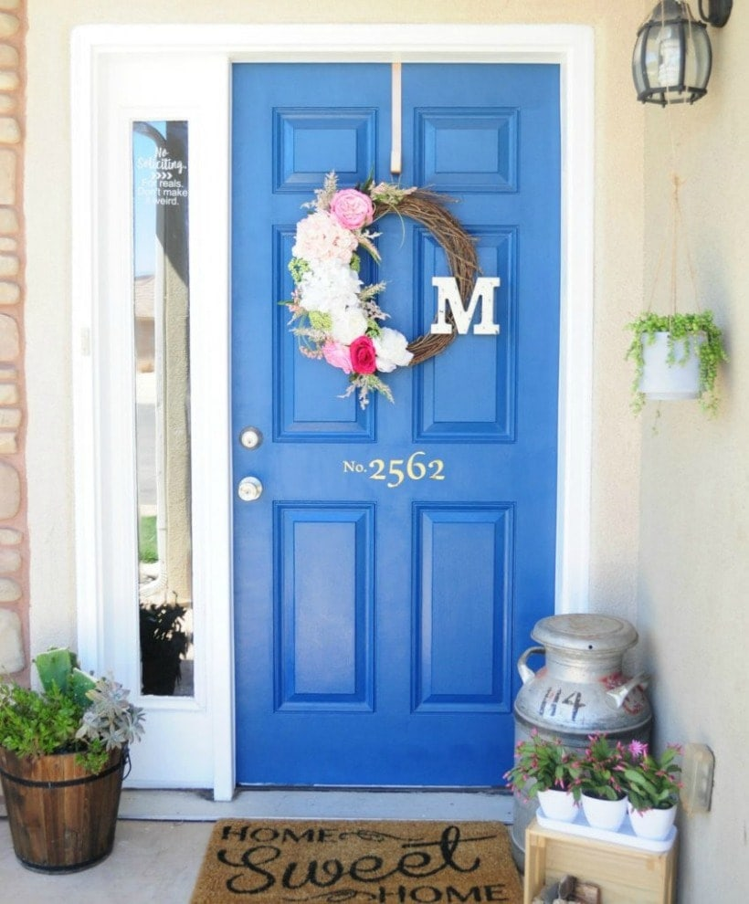 Front Door Paint Colors: Sherwin Williams Regatta SW 6517