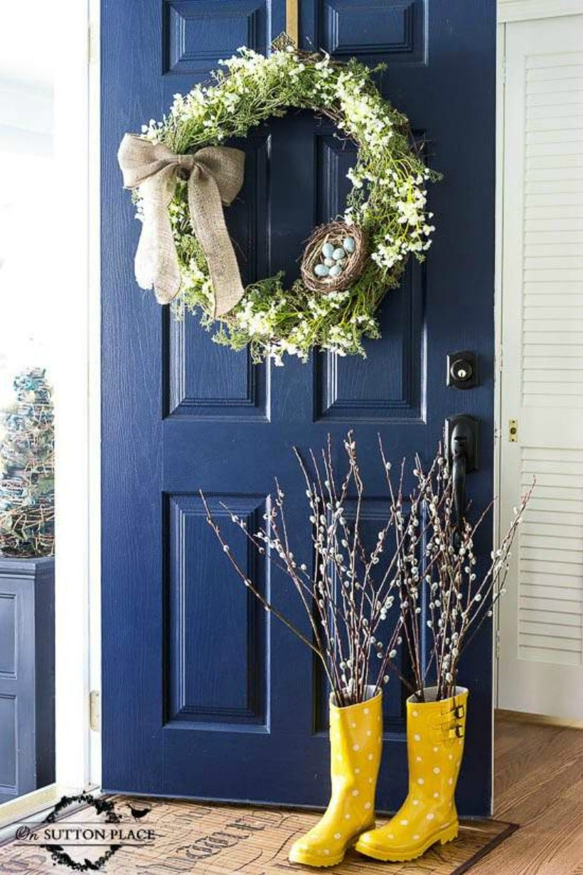Front Door Paint Colors: Sherwin Williams Naval SW 6244