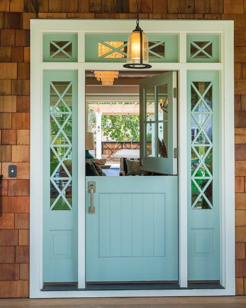 Attrayant Front Door Paint Colors: Benjamin Moore Wythe Blue HC 143