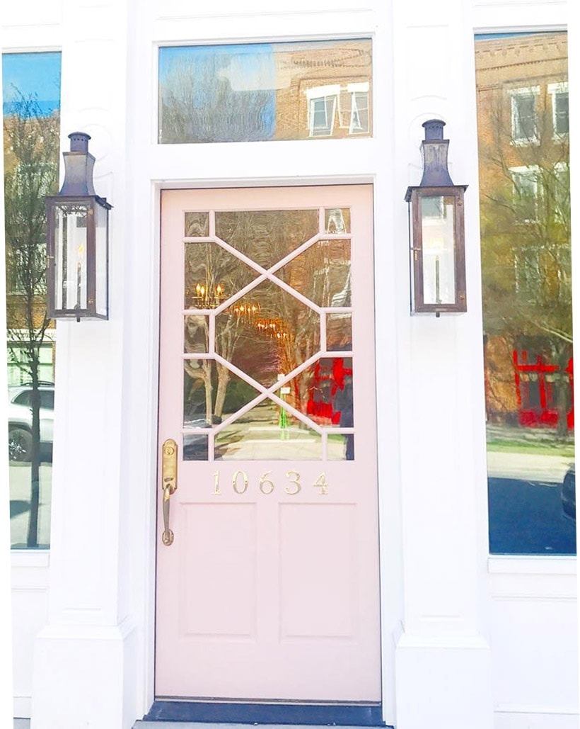 Front Door Paint Colors Sherwin Williams Pink Shadow Paintcolor