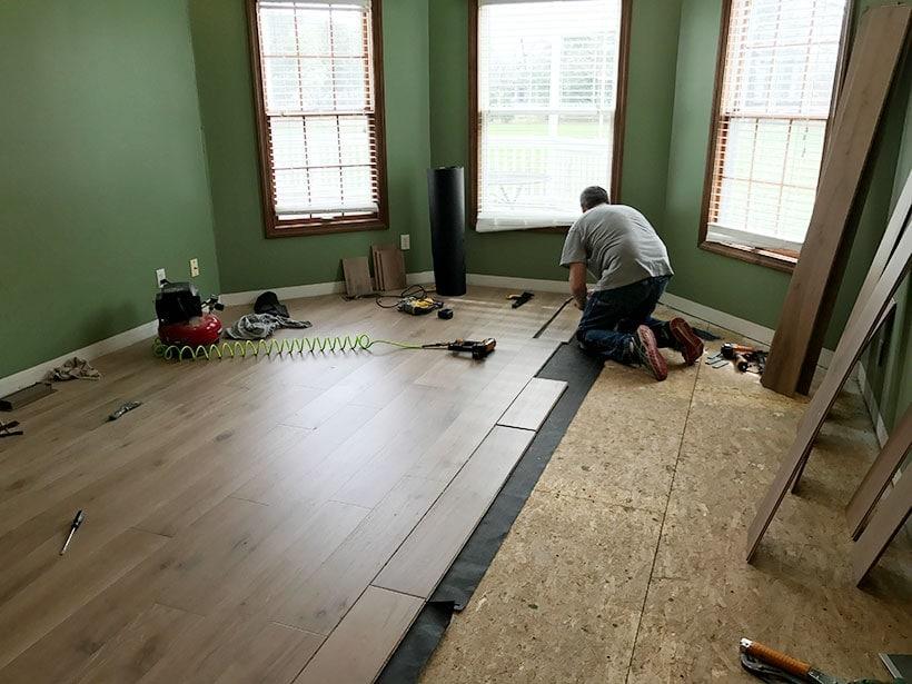 install white oak engineered hardwood floors in master bedroom, #whiteoak #flooring #bedroomdesign