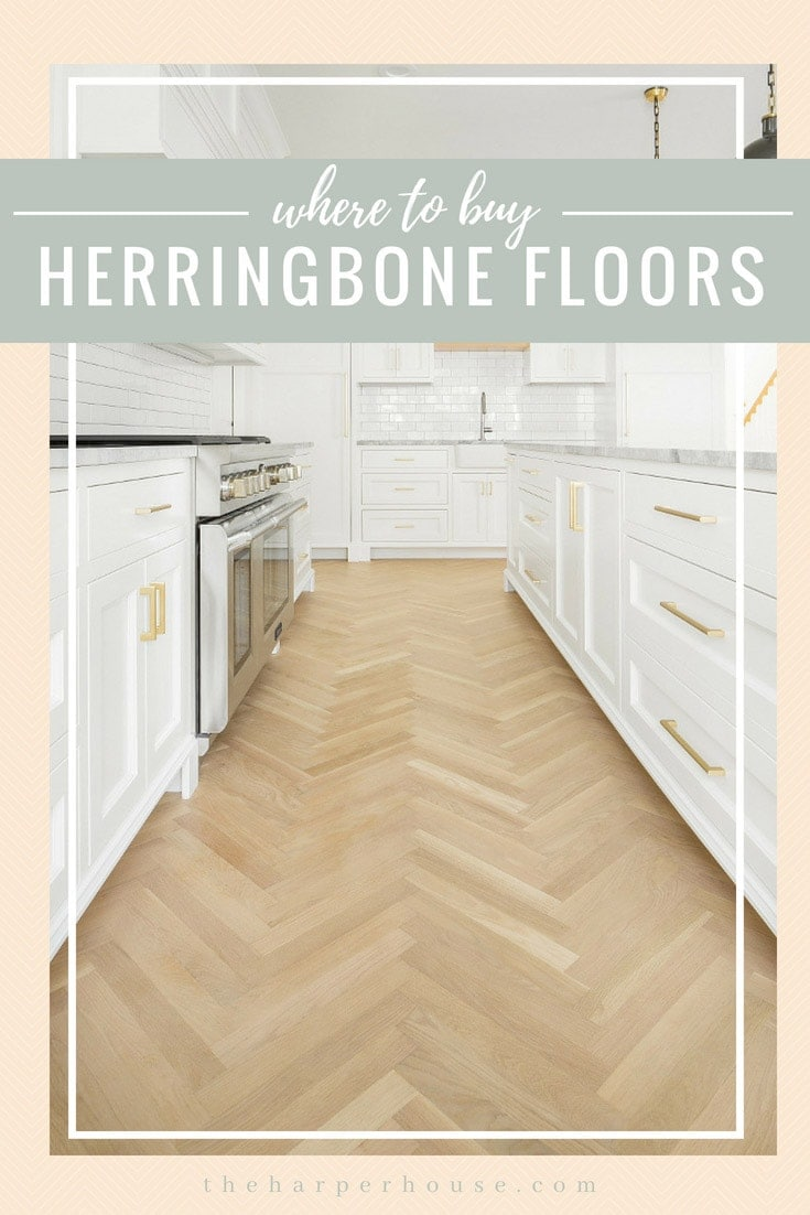herringbone wood floor inspiration pictures, where to buy herringbone wood floors and how much herringbone wood floors cost #flooring