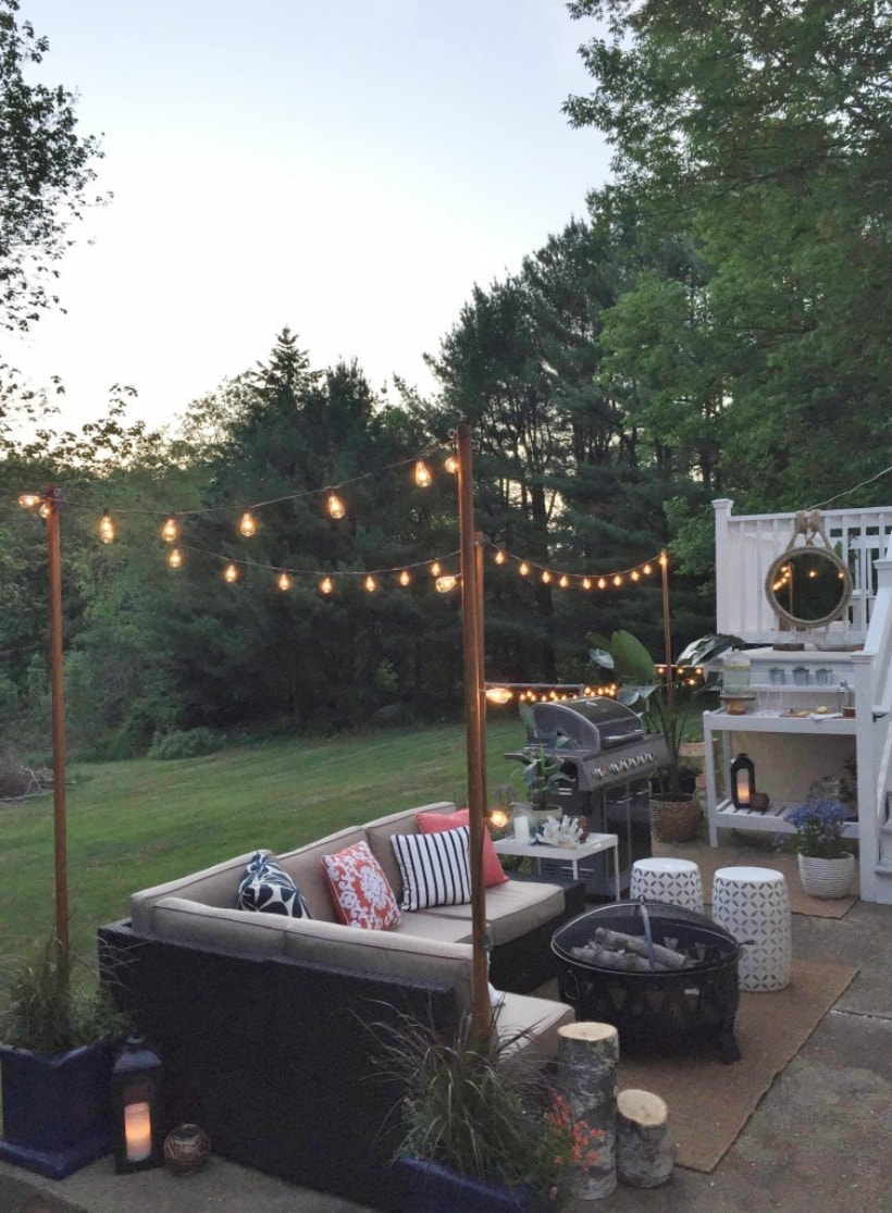 Give one of these DIY deck lighting ideas a try on your porch or patio this season. These unique outdoor lighting projects are sure to add character and brighten any space.