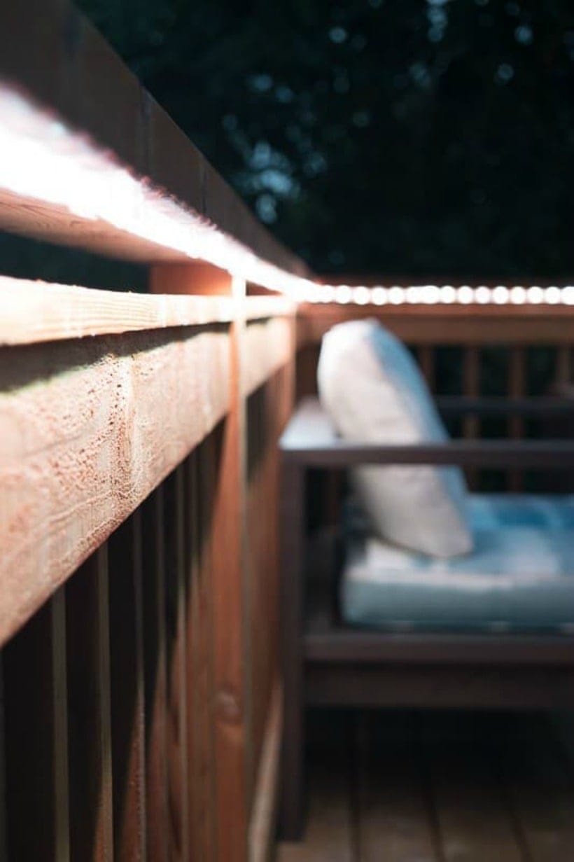 deck lighting ideas diy ideas to brighten any outdoor space the