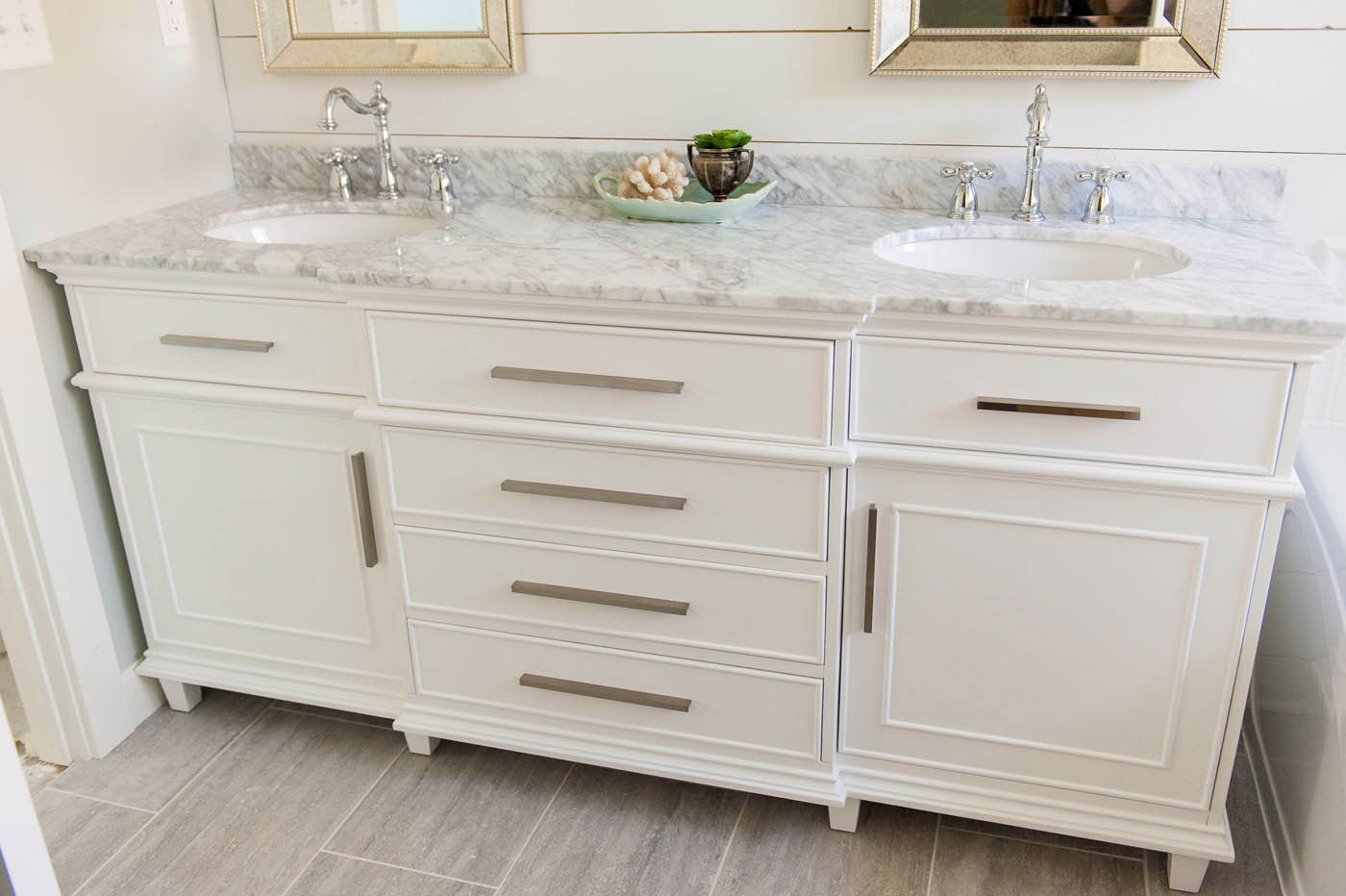 This Vanity Was Purchased On Amazon! Wha?? Bathroom Vanity Ideas | Double  Sink
